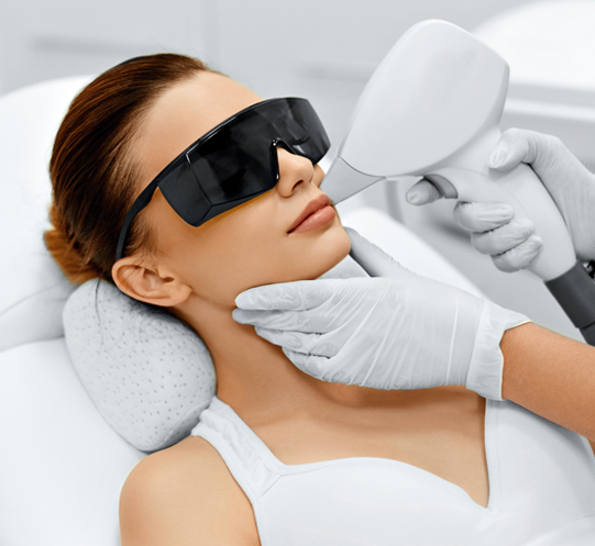 Facial Laser Hair Removal